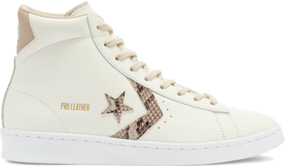 Converse Snake Print Pro Leather High Top Egret/Nomad/Egret 170497C
