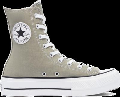 Converse Converse Color Extra High Platform Chuck Taylor All Star High Top Light Field Surplus/White 171088C