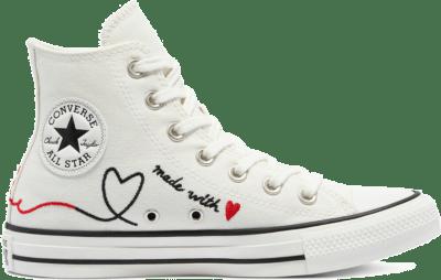 Converse Valentine's Day Chuck Taylor All Star High Top Vintage White/Egret/Black 171159C