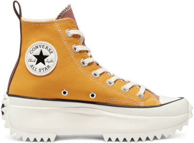 Converse Tri-Panel Run Star Hike High Top Sunflower Gold/Parchment 171122C