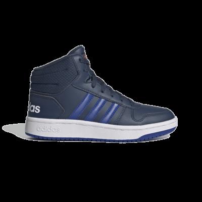 adidas Hoops 2.0 Mid Crew Navy FY7011