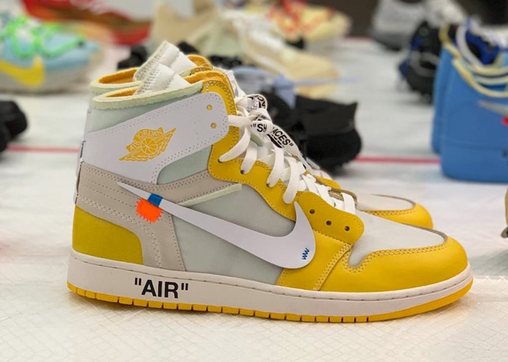 Komt er tóch nog een kanariegele Air Jordan 1 x Off-White collab?