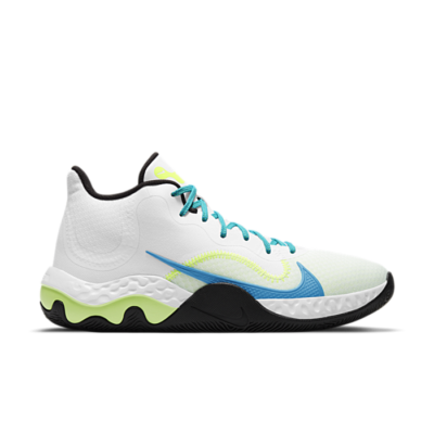 Nike Renew Elevate 'White Volt Light Blue Fury' White CK2669-102