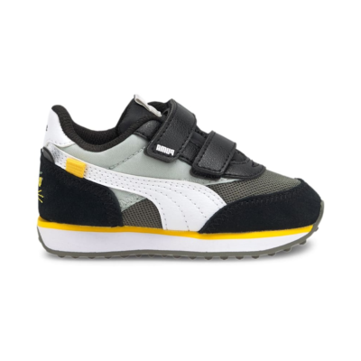 Puma Future Rider Animals V sneakers baby's Grijs / Wit 368742_01