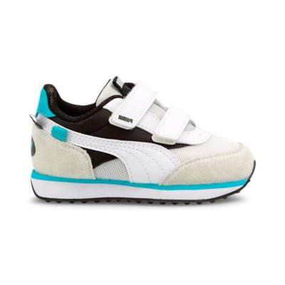 Puma Future Rider Animals V sneakers baby's Wit / Zwart 368742_02