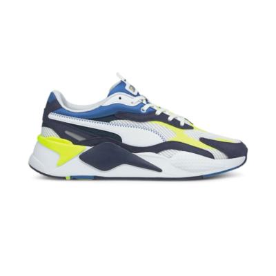 Puma RS-Xu00b3 Twill Air Mesh sneakers Wit / Blauw 368845_01