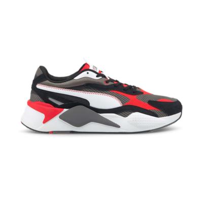 Puma RS-Xu00b3 Twill Air Mesh sneakers Grijs / Rood 368845_02
