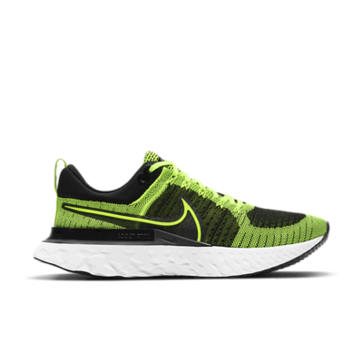 Nike React Infinity Run Flyknit 2 Geel CT2357-700