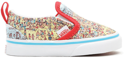 VANS Vans X Where's Waldo? Slip-on V Peuterschoenen  VN0A34883WO