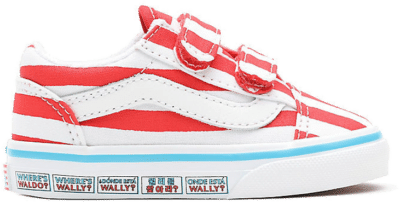 VANS Vans X Where's Waldo? Old Skool V Peuterschoenen  VN0A38JN3UV