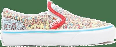 VANS Vans X Where's Waldo? Classic Slip-on Kinderschoenen  VN0A4BUT3WO