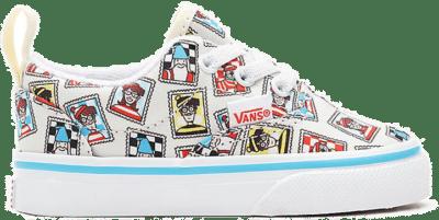VANS Vans X Where's Waldo? Era Peuterschoenen Met Elastische Veters  VN0A4P393SJ