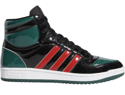 adidas Top Ten Black Green Red Patent FX7874