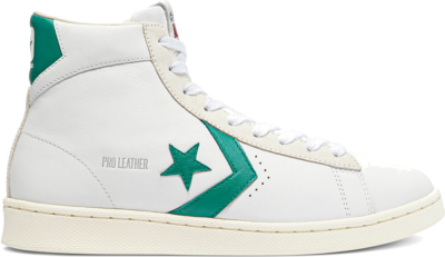 Converse Pro Leather High Top White/Court Green/Egret 171069C