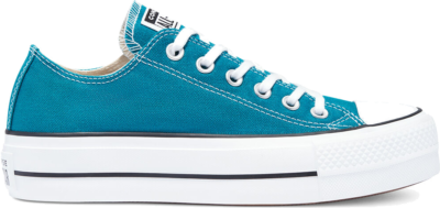 Converse Converse Color Platform Chuck Taylor All Star Low Top Bright Spruce/White/Black 570323C