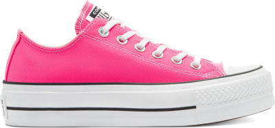 Converse Converse Color Platform Chuck Taylor All Star Low Top Hyper Pink/White/Black 570324C