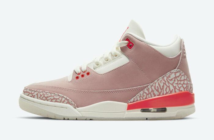nike Jordan air 3 rust pink