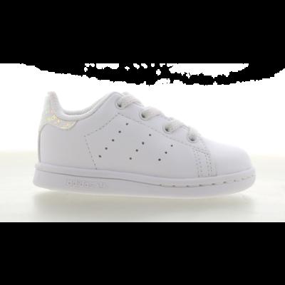 adidas Stan Smith Iridescent Logo White FX4046