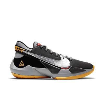 Nike Zoom Freak 2 Black/Metallic Silver-Particle Grey Array CK5424-006