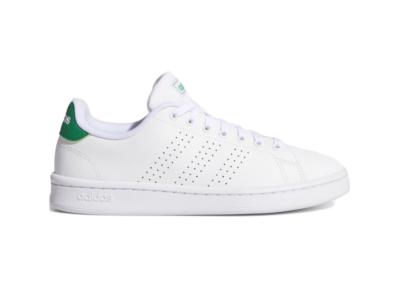 adidas Advantage Cloud White Green (W) FW7872