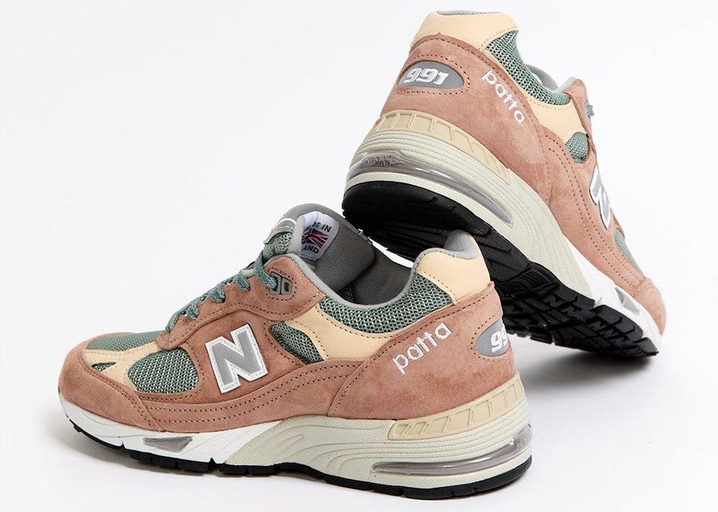 New year, new collaboration: de New Balance 991 in samenwerking met Patta