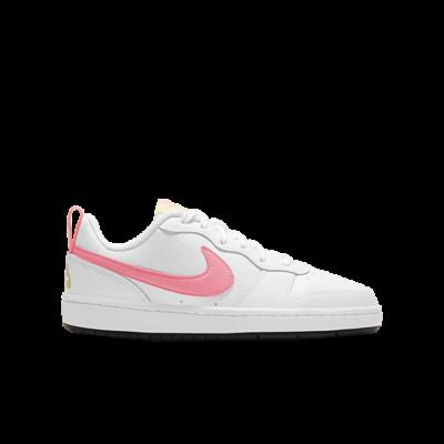 Nike Court Borough Low 2 White Light Citron (GS) BQ5448-108