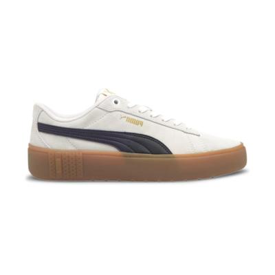 Puma Smash Platform v2 SD sneakers dames Wit / Zwart 373037_07
