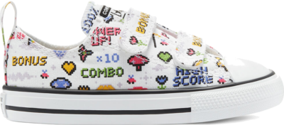 Converse Gamer Easy-On Chuck Taylor All Star Low Top White/Black/Bold Pink 770172C