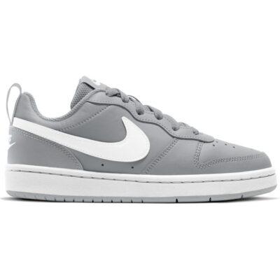 Nike – Court Borough Low 2 (Gs) – Grijze Sneaker Grijs