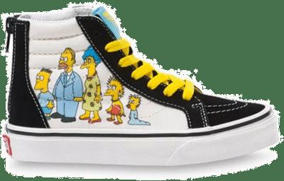 VANS The Simpsons X Vans 1987-2020 Sk8-hi Zip Kinderschoenen  VN0A4BUX17E