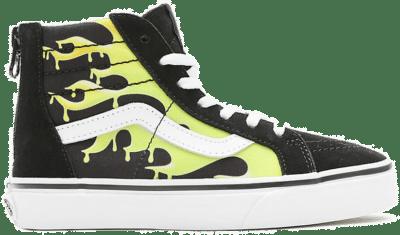 VANS Slime Flame Sk8-hi Zip Kinderschoenen  VN0A4UI431M