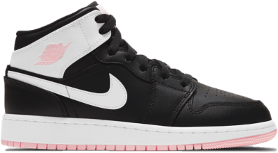 Jordan 1 Mid Arctic Pink Black (GS) 555112-061
