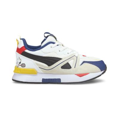 Puma x PEANUTS Mirage Mox sneakers kinderen Wit / Zwart 375735_01