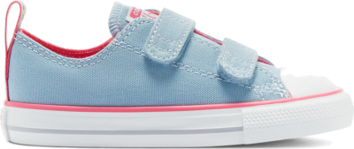 Converse Converse Color Easy-On Chuck Taylor All Star Low Top Sea Salt Blue/Bold Pink/White 770412C