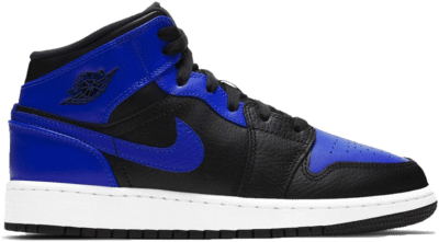 Jordan 1 Mid Hyper Royal (GS) 554725-077