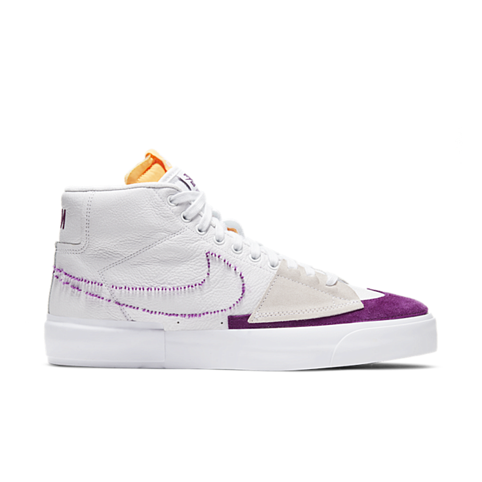 """Nike SB ZOOM BLAZER MID EDGE L """"WHITE"""" DA2189-100"""