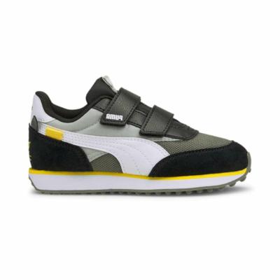 Puma Future Rider Animals V sneakers kinderen Grijs / Wit 368741_01