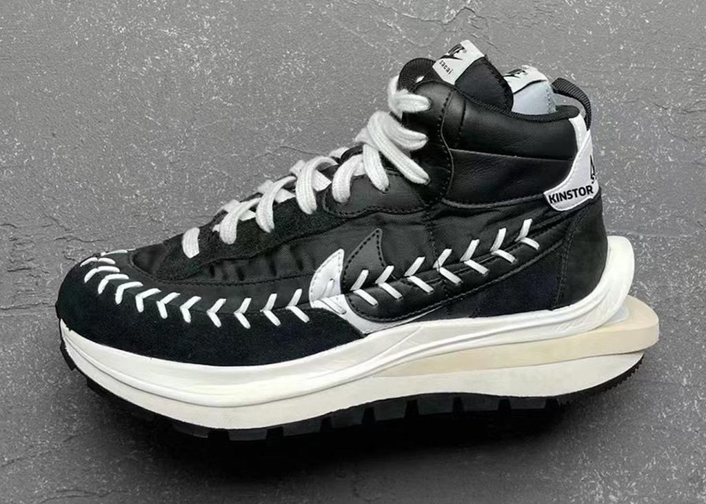 De Nike sacai x Jean Paul Gaultier VaporWaffle is nóg gekker dan we gewend zijn van Sacai