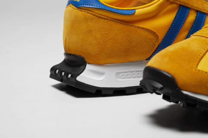gold yellow blue one Adidas racing