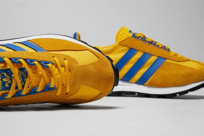 racing 1 blue Adidas