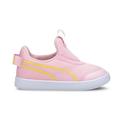 Puma Courtflex v2 Slip-On sneakers baby's Roze 374859_03