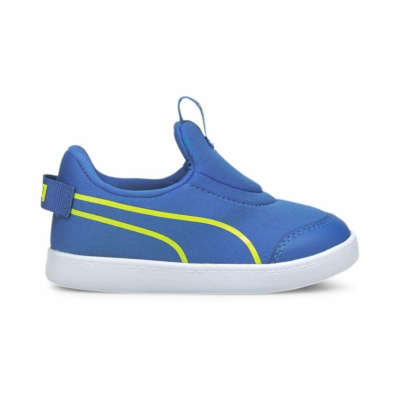 Puma Courtflex v2 Slip-On sneakers baby's Geel 374859_02