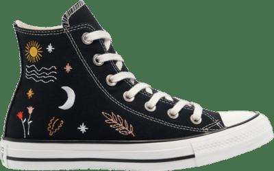 Converse Wmns Chuck Taylor All Star High 'It's Okay To Wander' Black 571081C