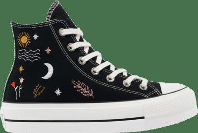Converse Wmns Chuck Taylor All Star Platform High 'It's Okay To Wander – Black' Black 571085C