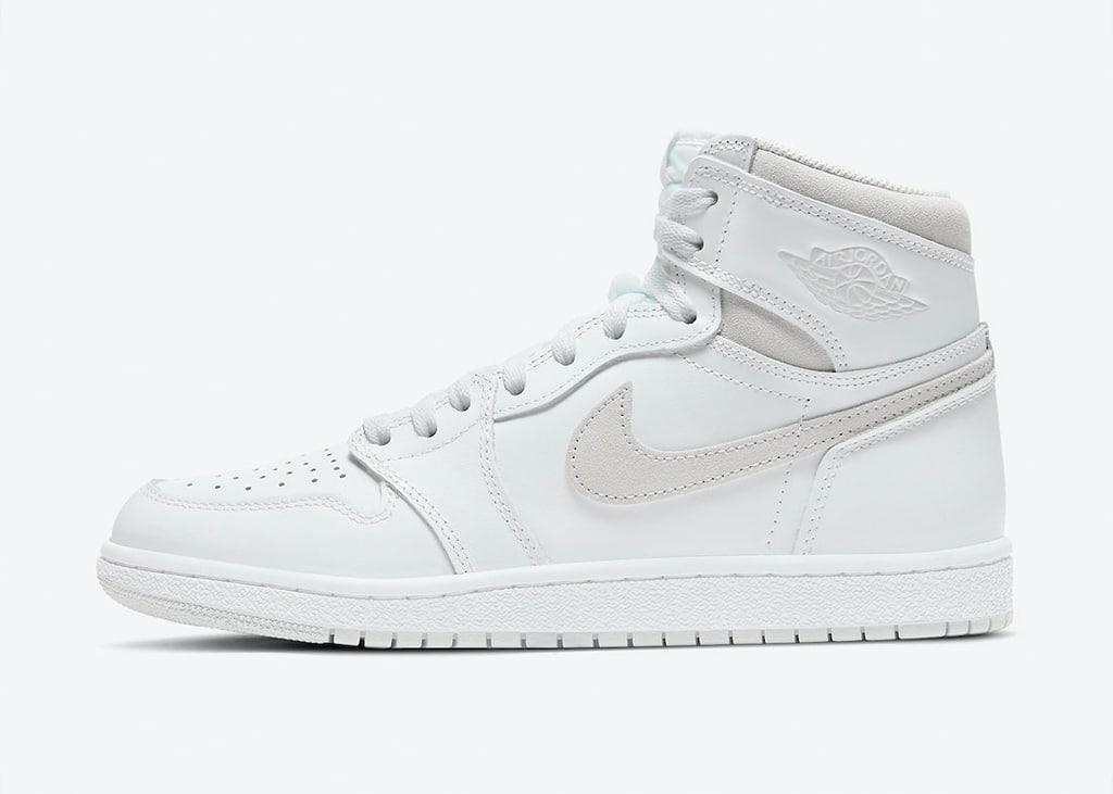 Finally, de officiële foto's van de Air Jordan 1 High 85 'Neutral Grey' release van 10 februari