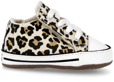 Converse Archive Leopard Easy-On Chuck Taylor All Star Cribster Mid Natural Ivory/Doe/Black 870415C