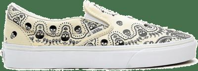 Vans Classic Slip-On 'Bandana – Classic White' White VN0A33TB42S