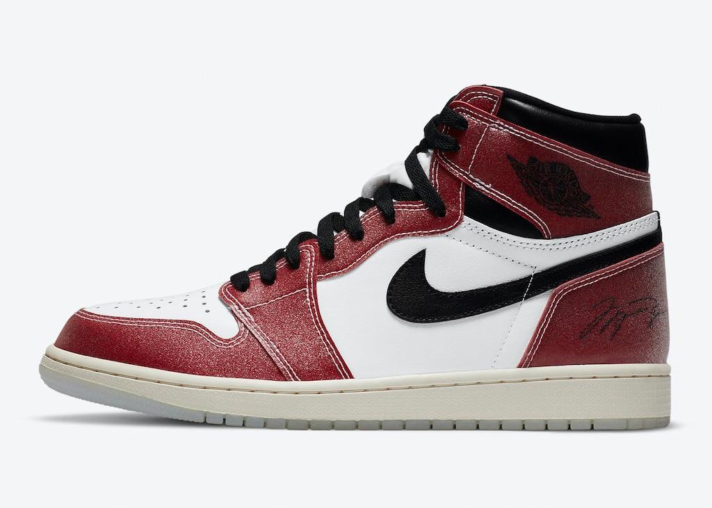 Nike deelt officiele foto's van de zwaar gelimiteerde Air Jordan 1 'Trophy Room'