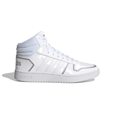 adidas Hoops 2.0 Mid Cloud White FY6023
