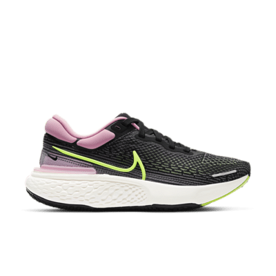 Nike Wmns ZoomX Invincible Run Flyknit 'Black Elemental Pink' Black CT2229-002